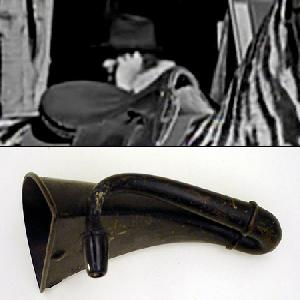 siemens 1924 hearing aid is possibly the device in the charlie chaplin time traveler device